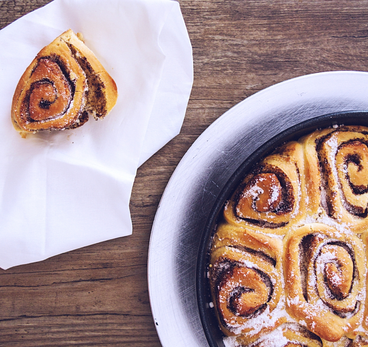 Cinnamon rolls for sugary souls